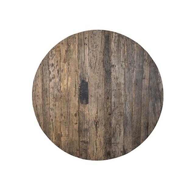 Round Dining Table Top Solid Wood O140 Mylestone Interiors Ltd