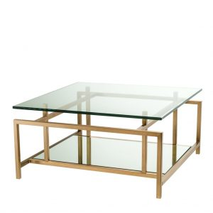 Coffee Table Superia Brass Finish
